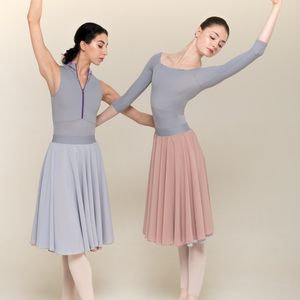 [Zi dancewear] 2-sided rehearsal skirt ・5型