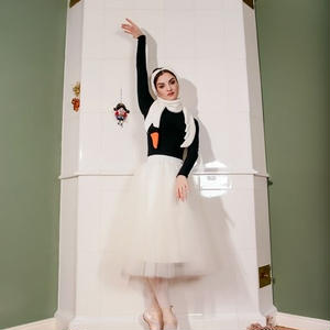 [Ballet Maniacs] 【限定】White Swan Scarf