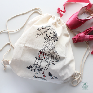 [Ballet Papier] BACKPACK 'THE RED SHOES'