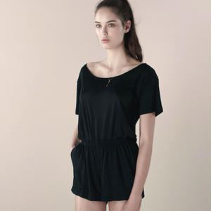 [Just A Corpse]  TENDER TEE - black romper