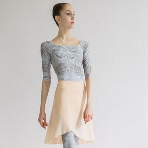 [Zi dancewear] Chiffon skirt (L丈), Plaster 'CALM'
