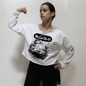 【限定・予約】We Can Do It! Cropped Pullover