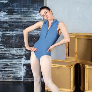 [Zefir Ballet] Cousteau Leotard (gray, M size)