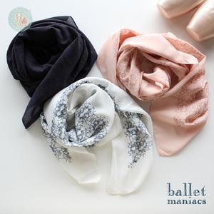 [Ballet Maniacs] スカーフ 'Ballet Maniacs'