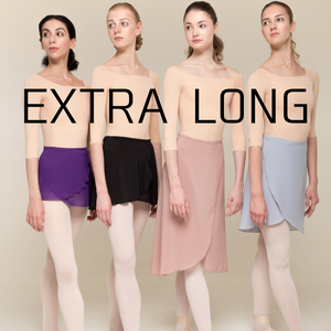 [Zi dancewear] Wrap skirt ・EL丈:4型(予約商品)
