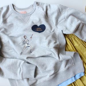 [Ballet Maniacs] Sweatshirt 'Mon Amour'