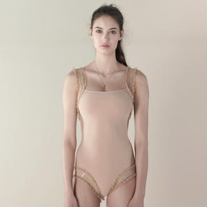 [Just A Corpse]  ELEANOR LIGHT – nude leotard with straps