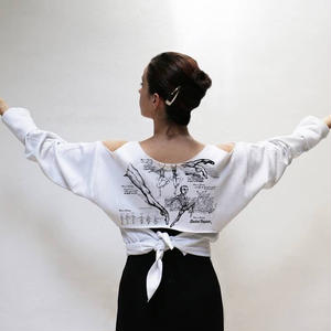 【限定・予約】Dance Anatomy Tie Back Pullover