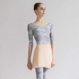 [Zi dancewear] Chiffon skirt (M丈), Plaster 'CALM'