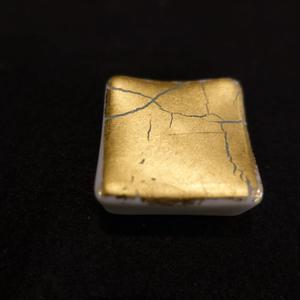 箸置き(角型金箔彩緑)