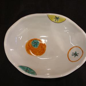 楕円小鉢(トマト)