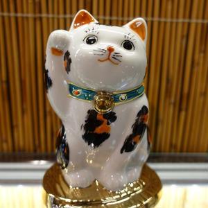 3.2G小判のり招き猫(三毛右手)