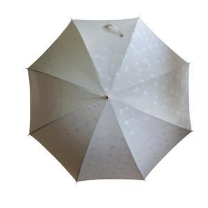 JACQUARDNOKASA ~ジャガードノカサ~ ホワイトサークル 長傘