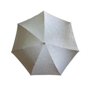 JACQUARDNOKASA ~ジャガードノカサ~ ホワイトサークル 折傘