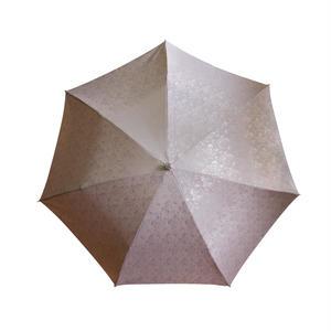 JACQUARDNOKASA ~ジャガードノカサ~ ピンクローズ 折傘