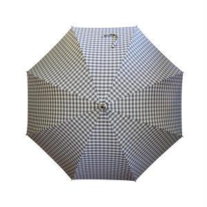 KOROMO ~コロモ~ ブラウンチェック  長傘