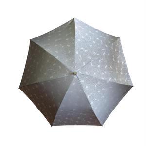 JACQUARDNOKASA ~ジャガードノカサ~ グレーサークル 折傘