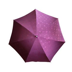 JACQUARDNOKASA ~ジャガードノカサ~ レッドサークル 折傘
