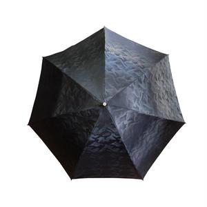 JACQUARDNOKASA ~ジャガードノカサ~ ブラックカモフラージュ 折傘
