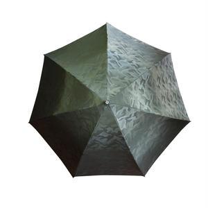JACQUARDNOKASA ~ジャガードノカサ~ グリーンカモフラージュ 折傘