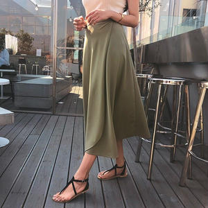 フレアラップスカート