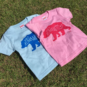 『BEAR』キッズ コットンTシャツ