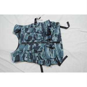 OMON放出 実物 官給品 ANA製 V-V-1ベスト BlueKamysh迷彩 バックパッチ付き 2009年製