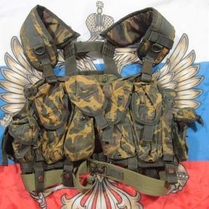 ロシア連邦軍 官給品 6sh92-4 ベスト アラミド VSR迷彩