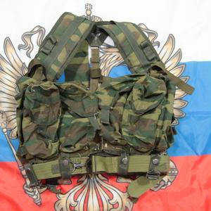 ロシア連邦軍 官給品 6sh92-5 ベスト フローラ迷彩