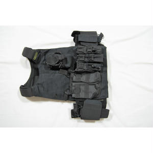 FSB放出 実物 GearCraft製 黒 プレートキャリアー ベルトキット一式