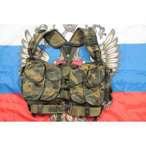 ロシア連邦軍 官給品 6sh92-5 ベスト アラミド繊維 フローラ迷彩