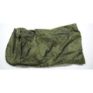 ロシア連邦軍 官給品 デジタルフローラ迷彩 寝袋 シュラフ用防水カバー兼テント