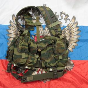 ロシア連邦軍 官給品 6sh92-5S ベスト フローラ迷彩  美品
