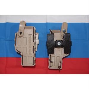 PGS製 中型拳銃用ホルスター Molle取り付け用金具付き