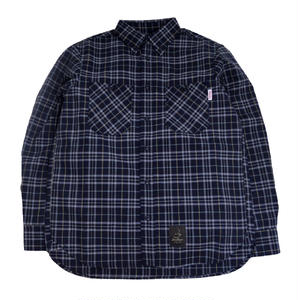 5656WORKINGS L/S CHECK SHIRTS (TRESREYES LIMITED) KYOTO NAVY