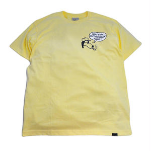 STILLAS S/S T-SHIRTS (WHATS MY NAME) LIGHT YELLOW