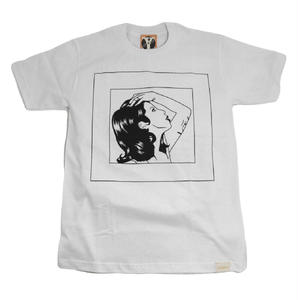 YELLMATIC S/S T-SHIRTS (LADY SKETCH) WHITE