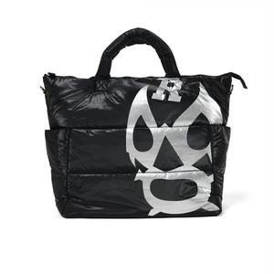 BIG LUCHA PRINT TOTE BAG【BLACK】