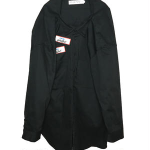 ODD OVER WORK SHIRT (BLACK)