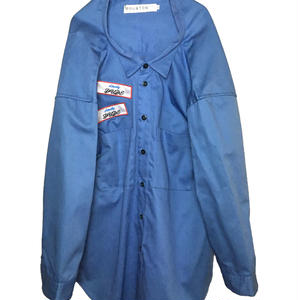 ODD OVER WORK SHIRT (LIGHT BLUE)