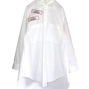 ODD OVER WORK SHIRT (WHITE)