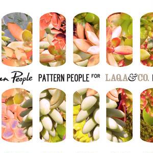 展開終了LAQA&CO ネイルハグズ(ネイルシール)PATTERN PEOPLE LQA22-7