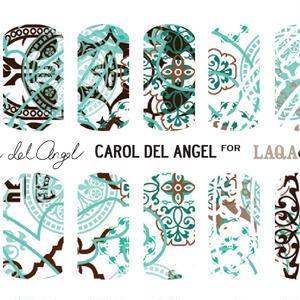 LAQA&CO ネイルハグズ(ネイルシール)CAROL DEL ANGEL LQA22-1