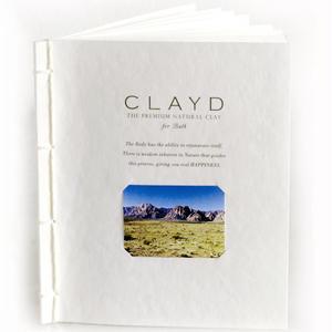 CLAYD  WEEK BOOK      クレイド  クレイ入浴剤7日分