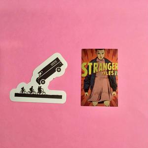 ストレンジャーシングス stranger things シール ステッカー2  ⑤