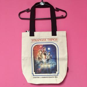 ストレンジャー シングス トートバッグ ②  STRANGER THINGS TOTE BAG ②