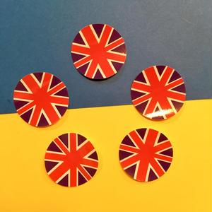 イギリス国旗 シール ステッカー 5枚セット UK FLAG STICKER
