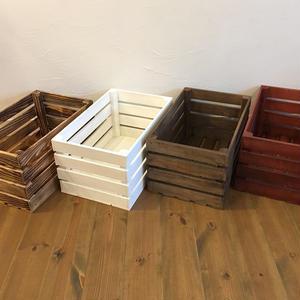 ウッドボックス  蓋付  2箱セット