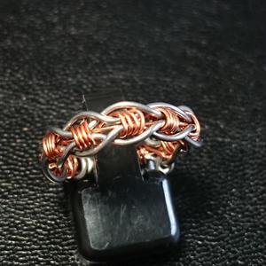 編み込みリング