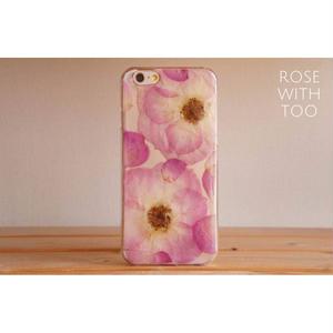 iPhone6/6s用 フラワーアートケース 押し花デザイン 0828_12